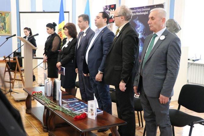 Moldovada Xocalı soyqırımının ildönümünə həsr olunmuş geniş anım tədbiri keçirilib - FOTO, fotoşəkil-1
