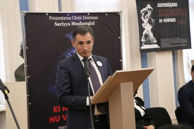 Moldovada Xocalı soyqırımının ildönümünə həsr olunmuş geniş anım tədbiri keçirilib - FOTO, fotoşəkil-6
