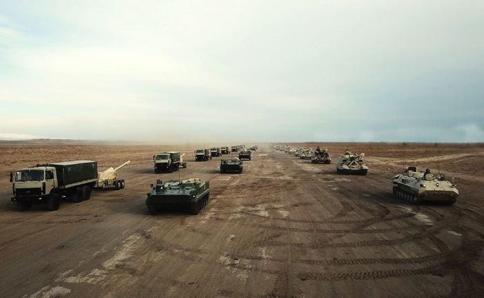 Azərbaycan Ordusu genişmiqyaslı təlimlərə başladı - VİDEO, fotoşəkil-1