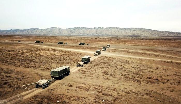 Azərbaycan Ordusu genişmiqyaslı təlimlərə başladı - VİDEO, fotoşəkil-7