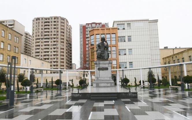 Şah İsmayıl Xətainin heykəli köçürüldü, yeni park salındı - FOTO, fotoşəkil-6