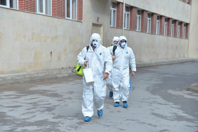 Məktəblərdə dezinfeksiya işləri genişləndirilib - FOTO, fotoşəkil-2