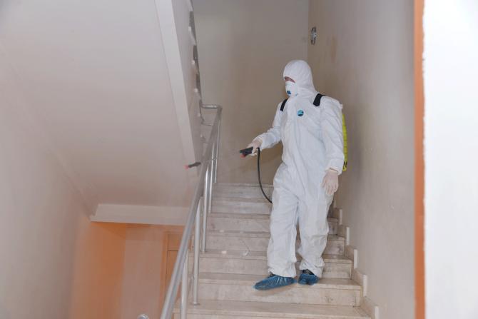 Məktəblərdə dezinfeksiya işləri genişləndirilib - FOTO, fotoşəkil-3