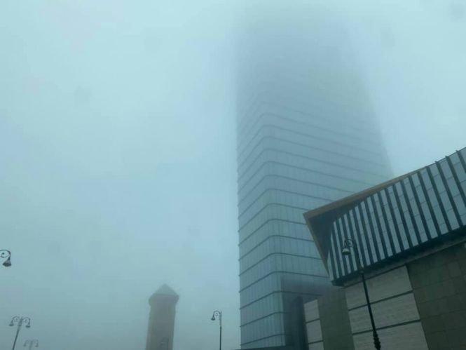 Bakıda uzunmüddətli dumanın SƏBƏBİ - FOTO, fotoşəkil-2