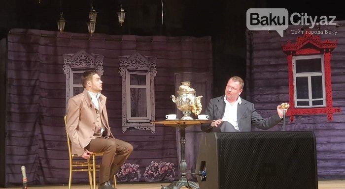 Rusiyanın teatr və kino ulduzları Bakıda səhnəsində - FOTO + VİDEO, fotoşəkil-2