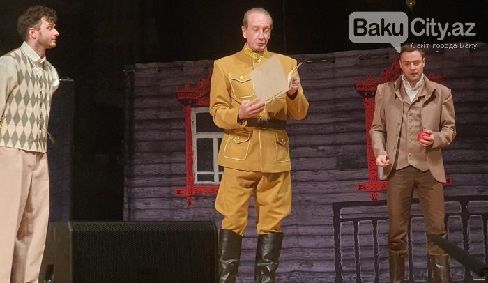 Rusiyanın teatr və kino ulduzları Bakıda səhnəsində - FOTO + VİDEO, fotoşəkil-5