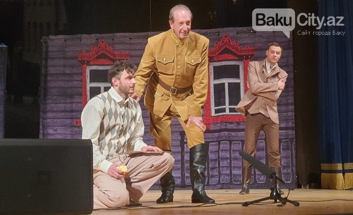 Rusiyanın teatr və kino ulduzları Bakıda səhnəsində - FOTO + VİDEO, fotoşəkil-8