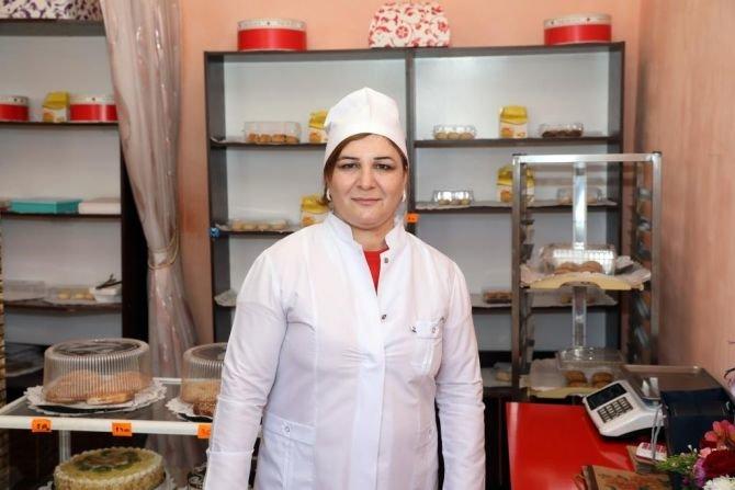 Azərbaycanda kiçik müəssisələrini yaradan qadınlar - FOTO, fotoşəkil-6