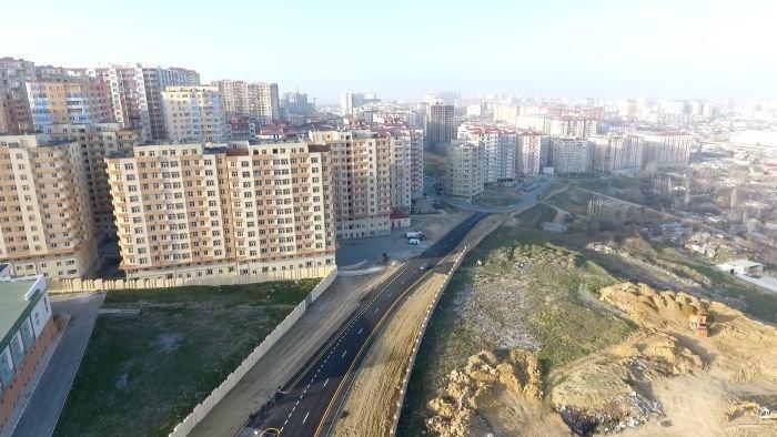 Yeni Yasamalda yeni yol - FOTO, fotoşəkil-3