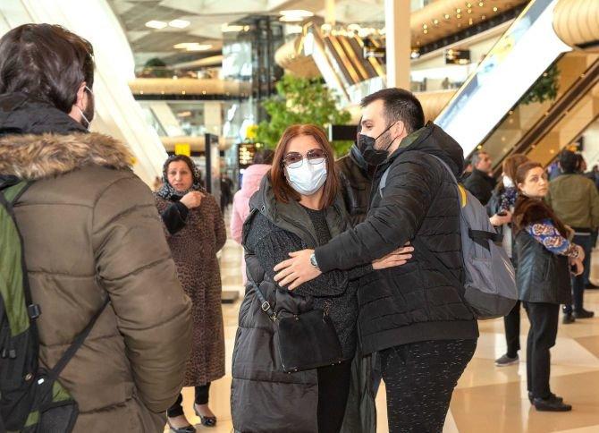 Ankaradan 157 Azərbaycan vətəndaşı Bakıya çatdırıldı - FOTO, fotoşəkil-1