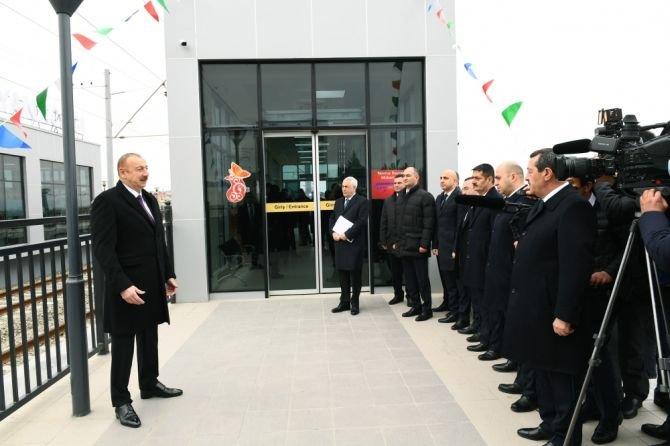 Görədil və Novxanıda dəmiryol stansiyalarının açılışı olub - FOTO, fotoşəkil-9