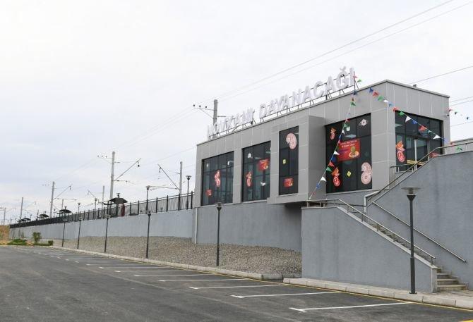 Görədil və Novxanıda dəmiryol stansiyalarının açılışı olub - FOTO, fotoşəkil-7
