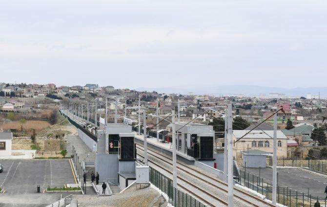 Görədil və Novxanıda dəmiryol stansiyalarının açılışı olub - FOTO, fotoşəkil-8