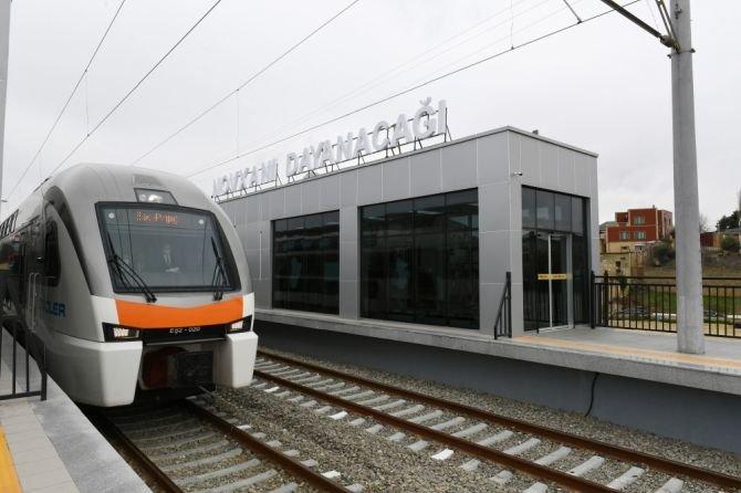 Görədil və Novxanıda dəmiryol stansiyalarının açılışı olub - FOTO, fotoşəkil-10