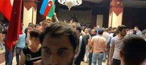 Bakıda orduya dəstək yürüşündə təxribat - VİDEO, fotoşəkil-3