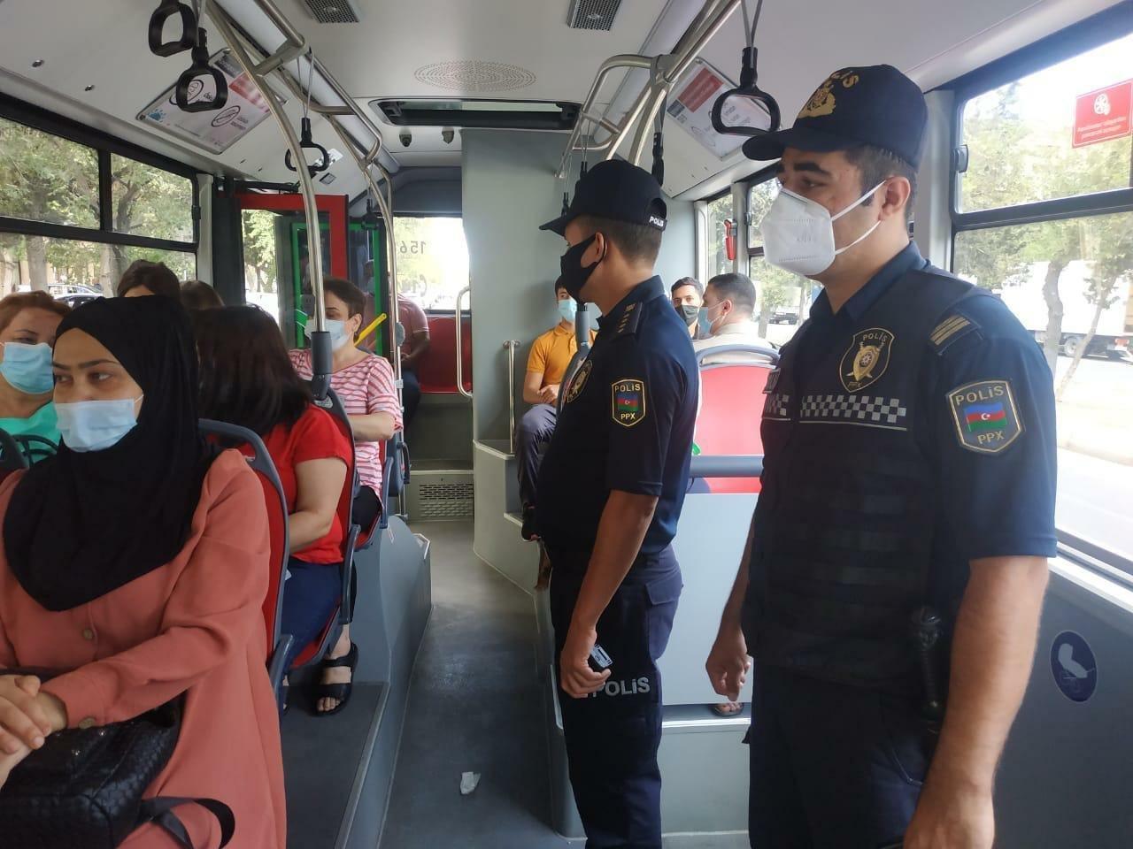 Bakı polisi daha bir reyd keçirdi - FOTO, fotoşəkil-1