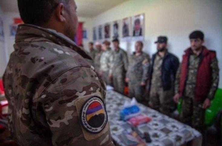 Ermənilərlə birlikdə vuruşan suriyalı terrorçular - FOTO, fotoşəkil-3