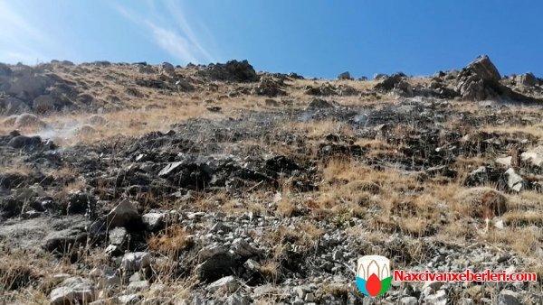Ordubad raket atəşinə tutulub - FOTO, fotoşəkil-3